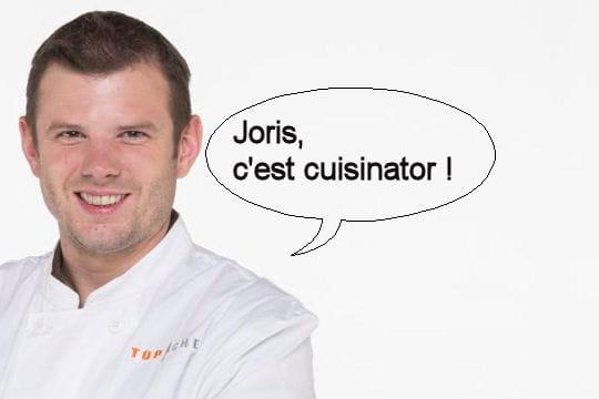 """Jean-Philippe, à propos de Joris: """"Le type c'est cuisinator!"""""""