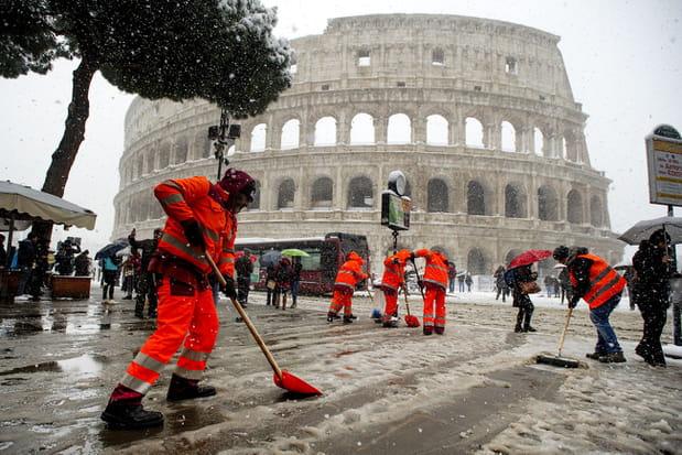 Les images spectaculaires du grand froid en Europe