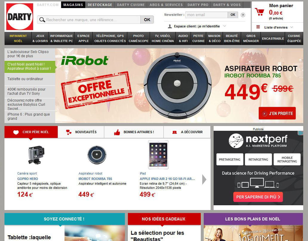 darty meilleur site de produits technologiques. Black Bedroom Furniture Sets. Home Design Ideas