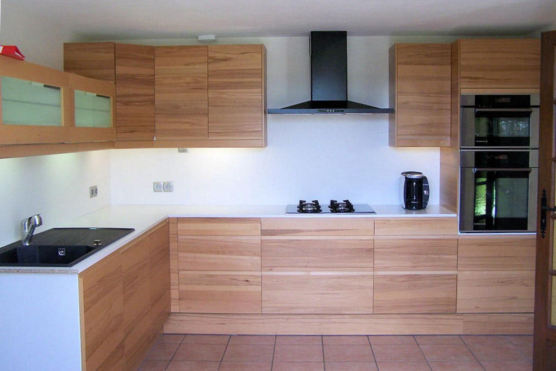 une cuisine au style scandinave. Black Bedroom Furniture Sets. Home Design Ideas