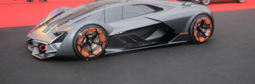 La Lamborghini Terzo Millennio futuriste en images