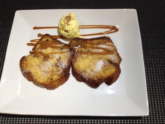 Dessert : Brasserie La Plage  - Brioche de noel ... Hum!!! -