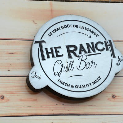 Restaurant : The Ranch  - the ranch bar à viandes halal Courbevoie -   © The Ranch