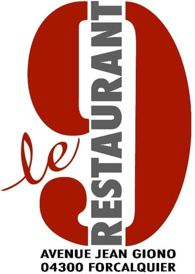 Le 9 Restaurant  - Logo Le 9 Restaurant Forcalquier -   © Jérôme Payan