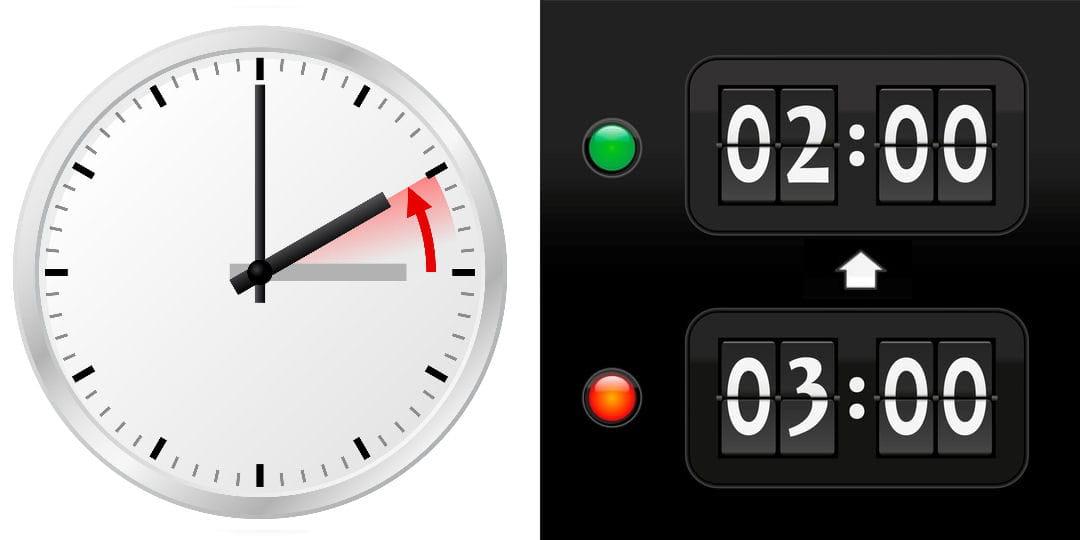Changement d 39 heure la date du prochain changement d - Date changement d heure ...