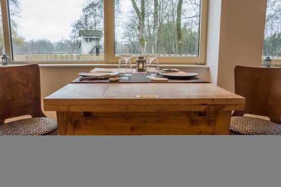 Restaurant : Domaine du Lac - Racines  - Table -   © David Lachavannes