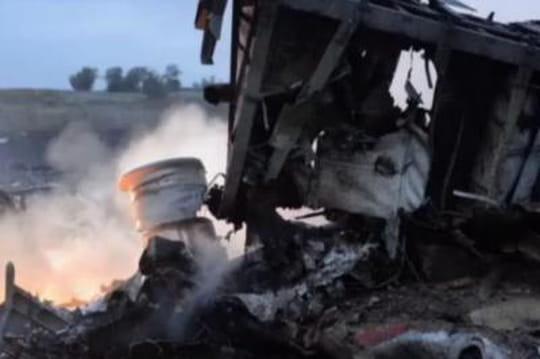 Crash avion en Ukraine: et si c'était une bombe?
