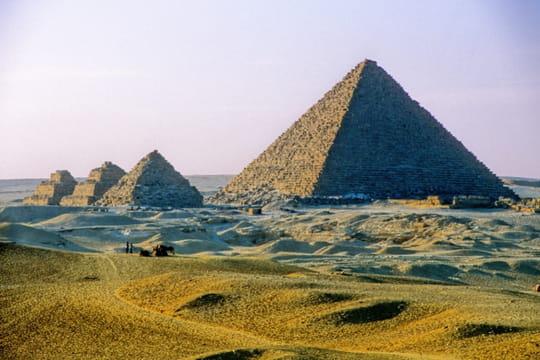 La pyramide de Mykerinos, la cadette