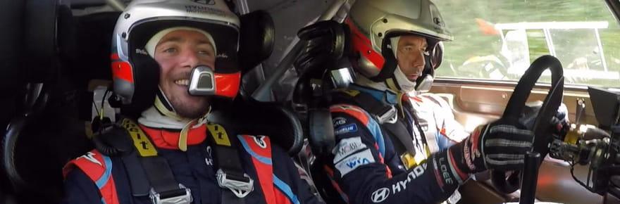 En vidéo : on est montés avec Sébastien Loeb dans la Hyundai i20 de rallye