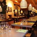 Restaurant : Le Jardin des Secrets  - Salle a manger -