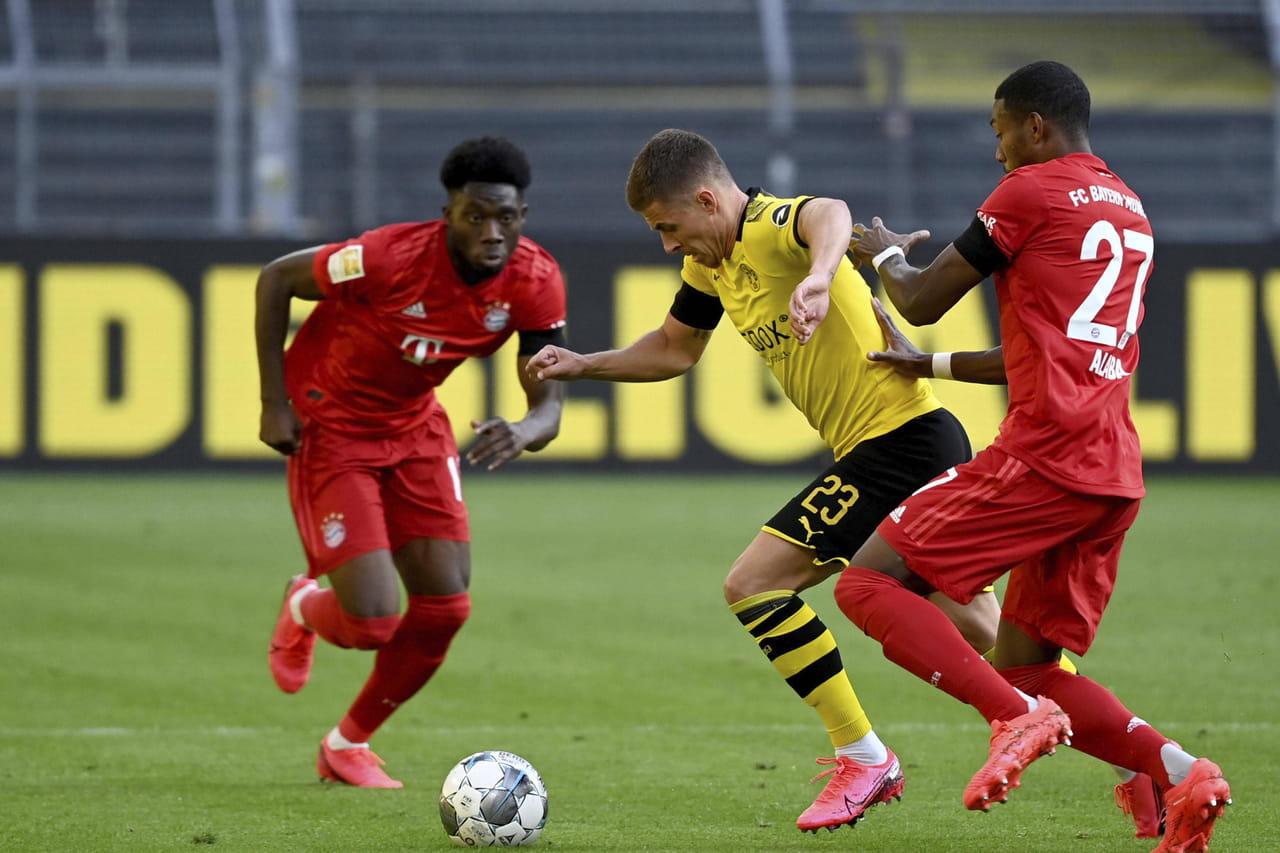 Foot. Dortmund - Bayern: Kimmich débloque la situation! Le match en direct