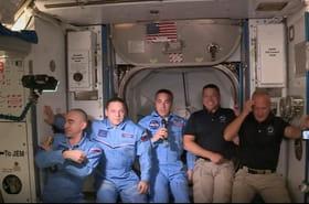 Les deux astronautes transportés par SpaceX arrivés à bord de l'ISS