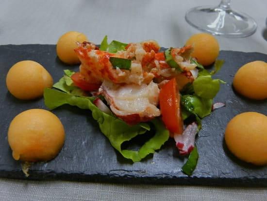 Le Petit Kériquel  - Salade homard petit keriquel -   © P Morizot