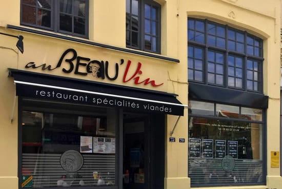 Au Beau'Vin  - façade -   © elyse