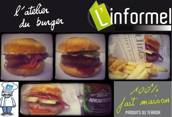 L'Informel l'atelier du burger  - Mur d'images -   © CLB