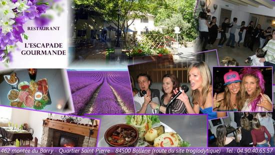 Restaurant : L'Escapade Gourmande  - Un rendez vous ressourçant ! -   © Facook64