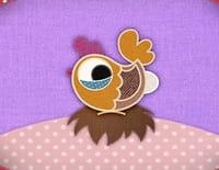 Le patchwork des animaux : Madame poule