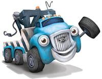 Jack et les camions : Camion-poussière