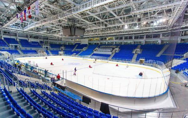 L'arène Shaïba pour le hockey sur glace