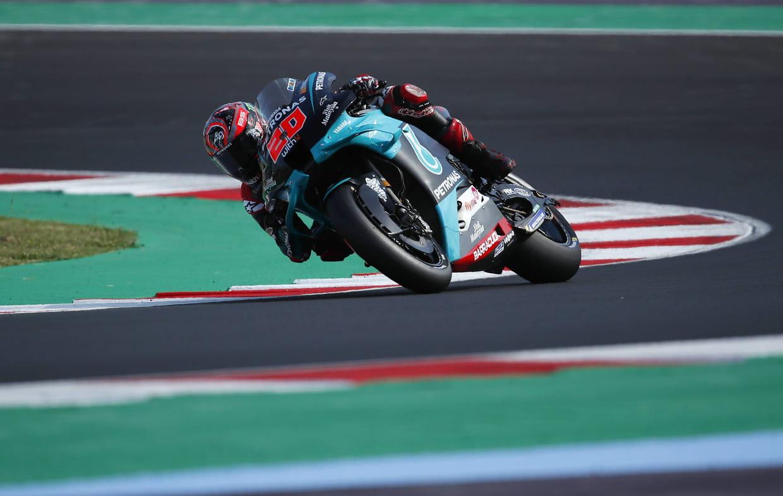 Deux chutes et un abandon pour Fabio Quartararo à Misano — Moto GP