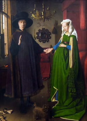 Jan van Eyck - Les Époux Arnolfini