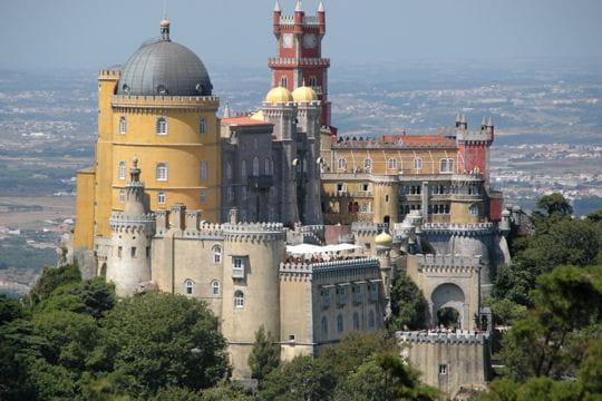 Sintra et le palacio da Pena