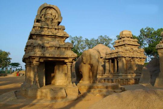 La beauté de l'art Pallava