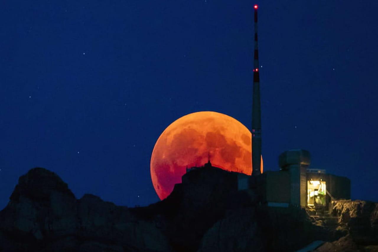 Super lune 2019: la troisième de l'année a lieu jeudi 21mars