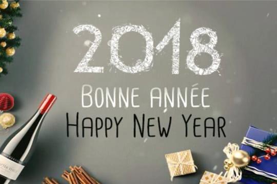 Bonne année 2018: messages, cartes et images pour des voeux parfaits
