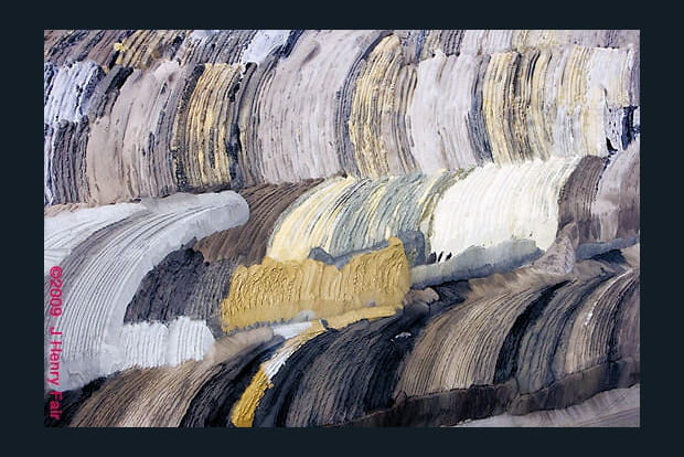 Piles de charbon