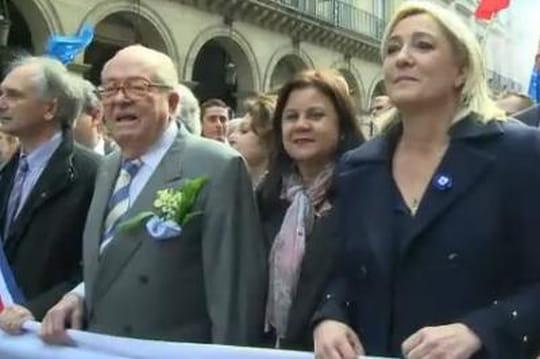 Jean-Marie Le Pen: 28,9% aux européennes
