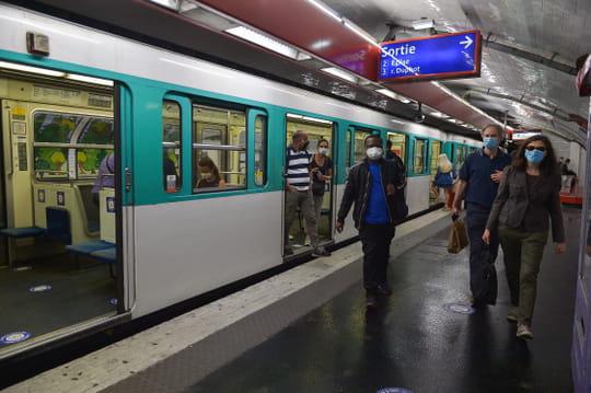 Trafic RATPet couvre-feu: un métro sur 2, 1bus sur 2et 1RER sur 2dès 21h