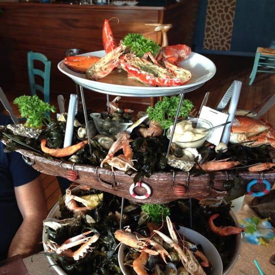 Restaurant : L'Ambrosia  - Plateau de fruit de mer  -