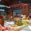 Terres Rouges  - Beignets de pommes de terre, charcuterie de montagne spécialités savoyardes -   © arvimedia