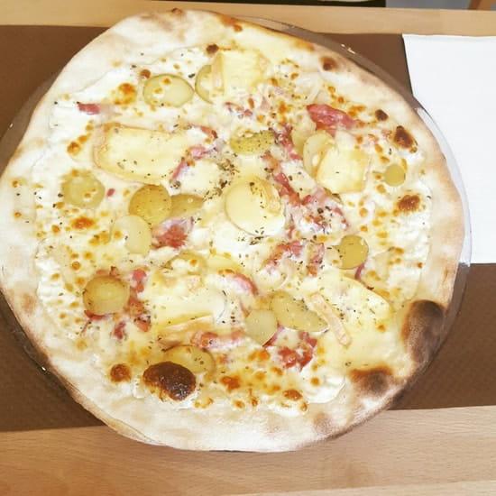 Plat : L'Origan  - Pizza savoyarde  -