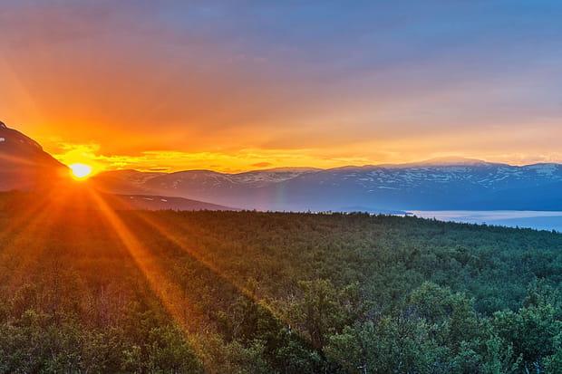 Le parc national d'Abisko, en Suède