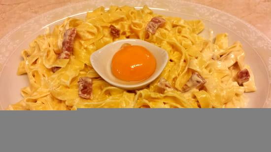 La Caz'amis   © Spaghetti fraîches à la carbonara