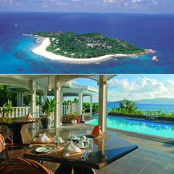 cousine island et ses villas à louer