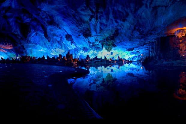 Grotte de Guilin, Chine