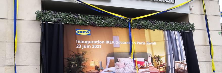 Tout savoir sur le nouveau magasin Ikea à Paris rue de Rivoli