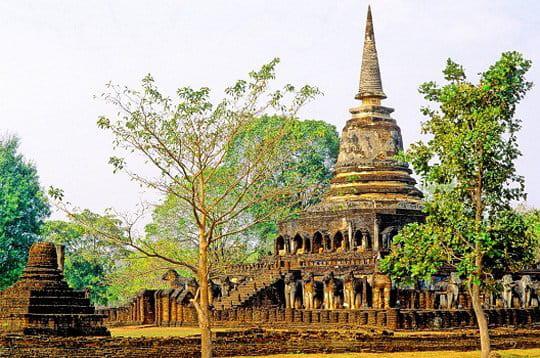 La ville historique de Si Satchanalai