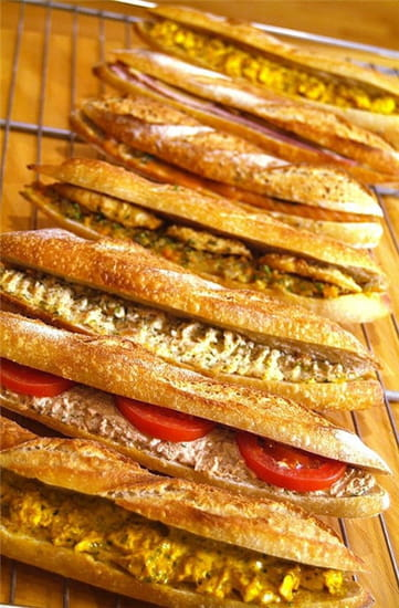 Secrets de Table  - Sandwichs -   © Jean Gosselin