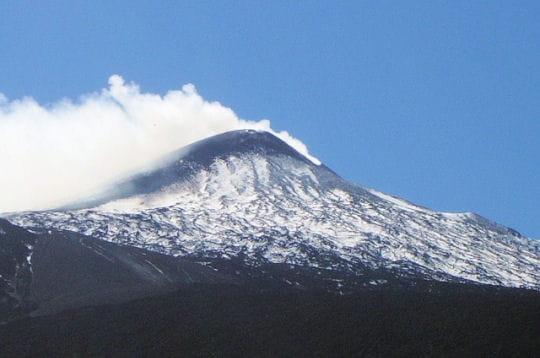 La face nord de l'Etna