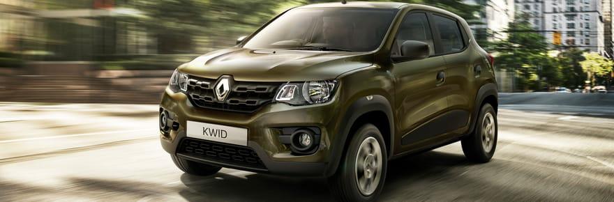 Renault Kwid: avec un moteur essence de 57 chevaux ?
