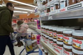 Nutella: un défaut de qualité évoqué, un risque en France?