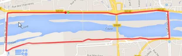 Orléans : le tour des ponts de la Loire (5km)