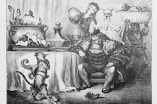 Le Chat Botté et l'Ogre