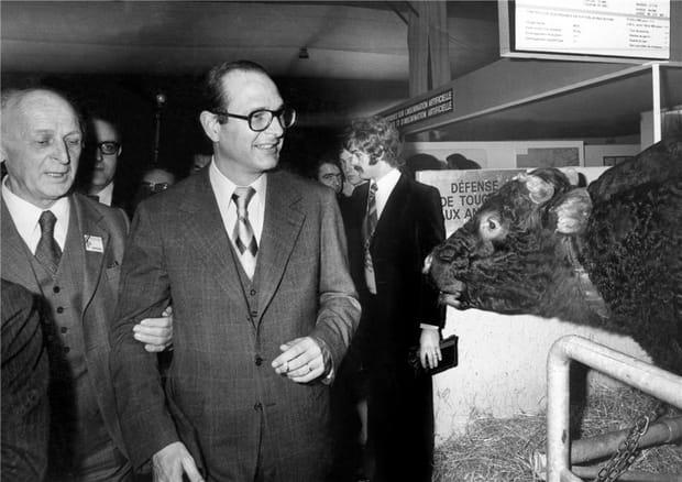 Jacques Chirac et le Salon : une grande histoire d'amour