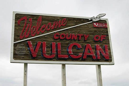 Vulcan dans l'Alberta