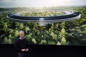 Apple Campus 2: le nouveau siège écolo-futuriste d'Apple en images